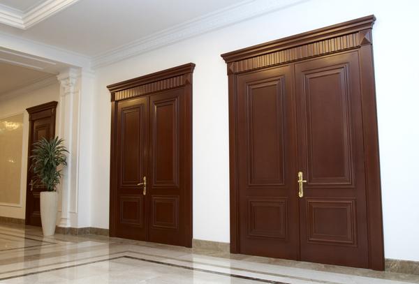 Двери из бука тонированные
