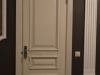 Межкомнатная дверь из массива бука с эффектом патинирования