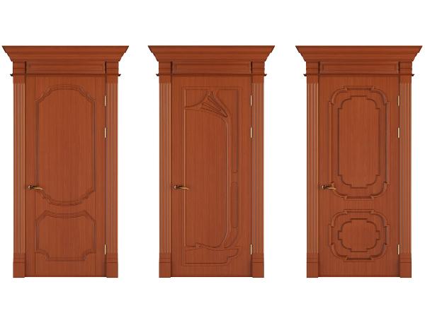 Варианты декорирования дверей