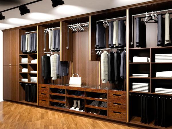 встроенные гардеробные