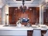 Кухня всроенная фасады шпон