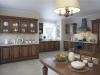Кухня в частном доме выполненная на заказ