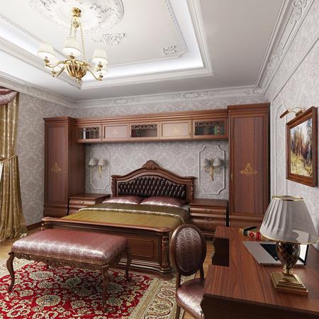 мебель в спальню шпонированная