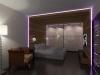 панели с подсветкой для спальни