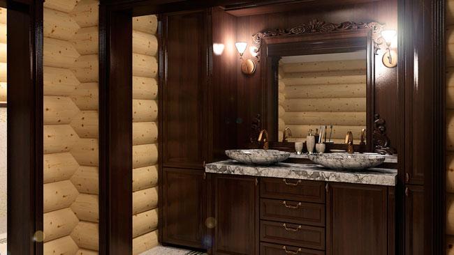 мебель для ванной комнаты на заказ по индивидуальным размерам