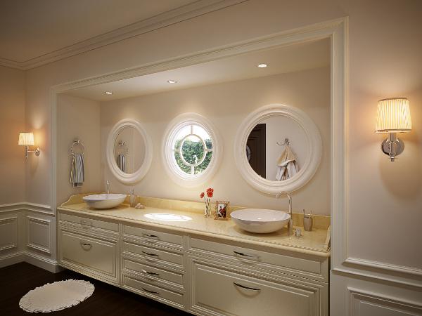 врезная мебель в ванную
