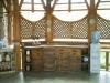 Деревянная состаренная мебель на кухню
