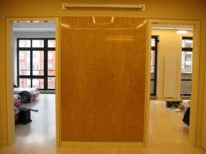 Стеновые шпонированные панели из МДФ от производителя