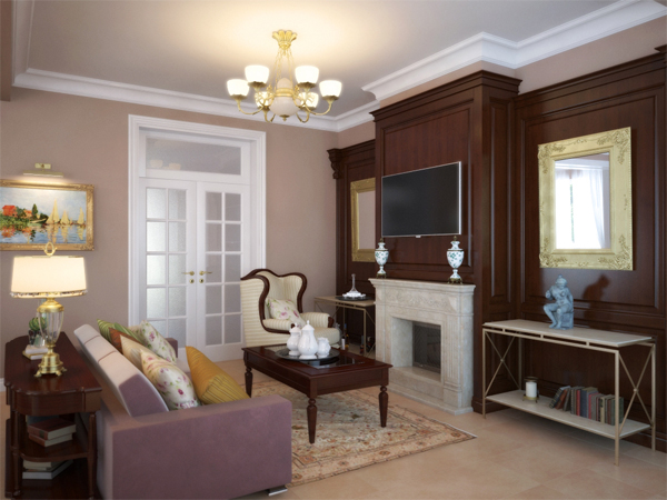 Эксклюзивные стеновые панели для гостиной