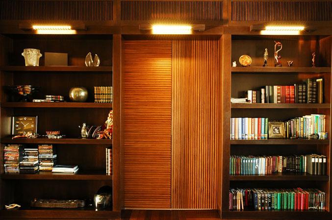 Эксклюзивная мебель от производителя - библиотеки на заказ.