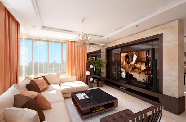 Мебели для гостиной по проекту