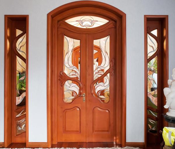 Дверь полукруглая