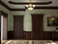 Двери с пилястрами