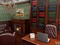Мебель с золотой патиной
