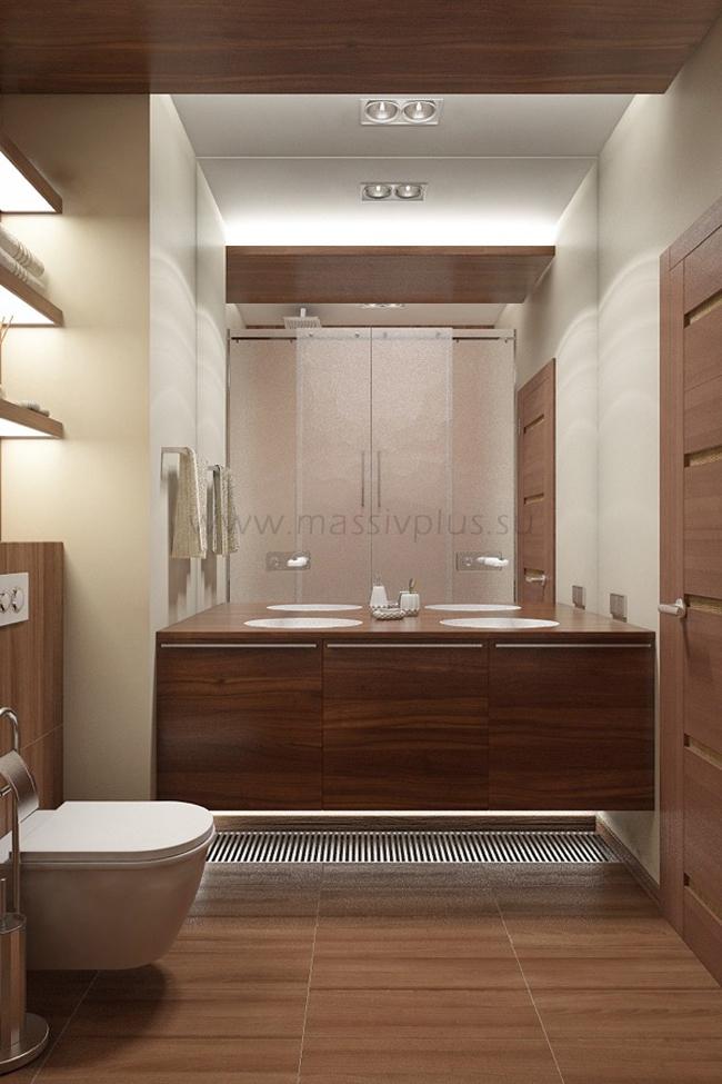 Мебель для ванной комнаты из массива