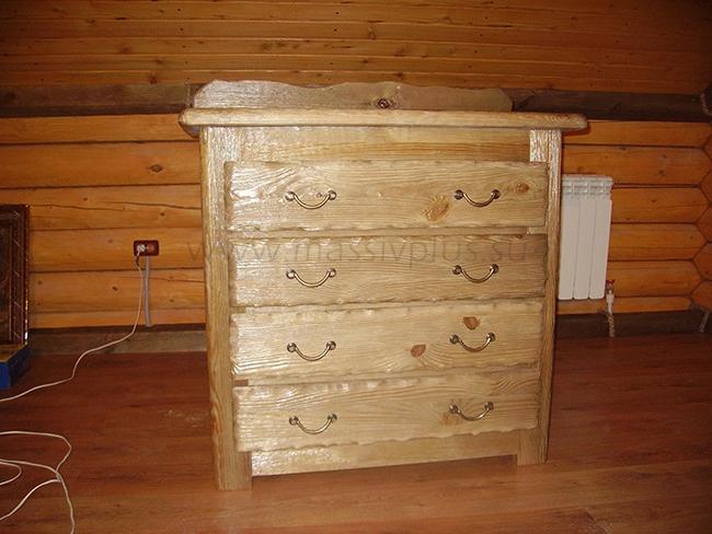 Мебель из сосны по индивидуальным размерам