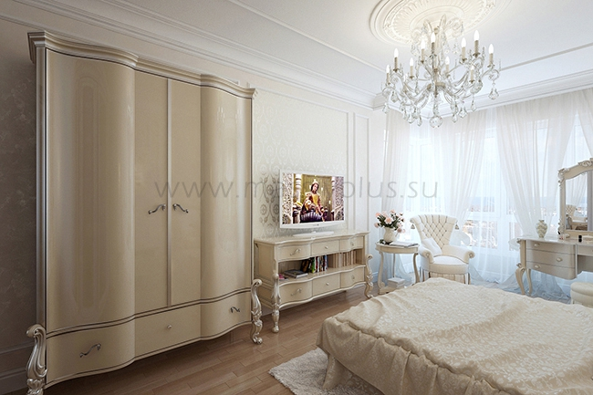 Мебель с гнутыми фасадами