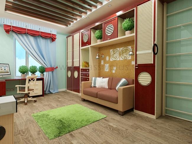 Шкафы из древесины