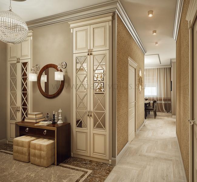 Шкафы в стиле арт деко